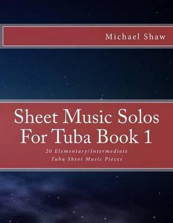 Sheet Music Solos For Tuba Book 1