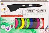 3Dandprint 3D Pen Starterspakket Zwart - Inclusief