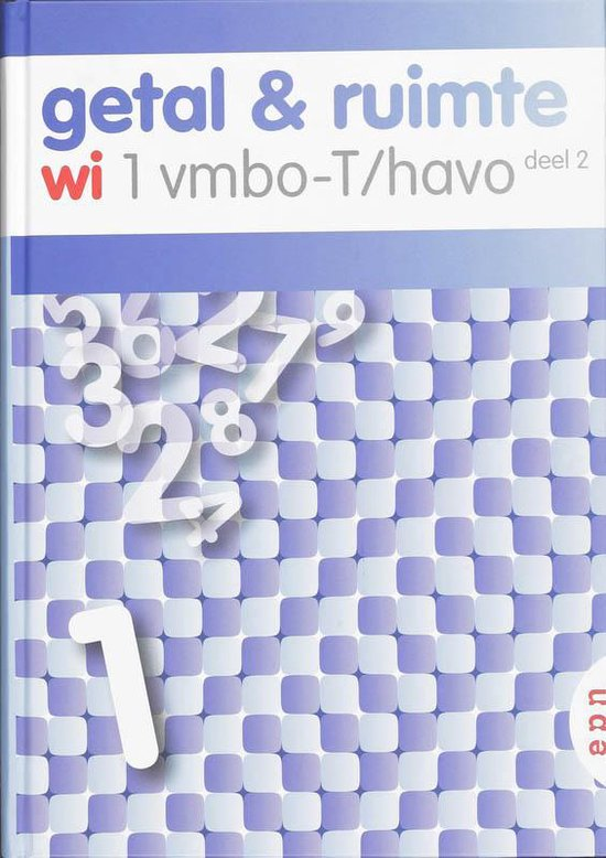 Getal en Ruimte / 1 Vmbo-T/havo deel 2 - L.A. Reichard pdf epub