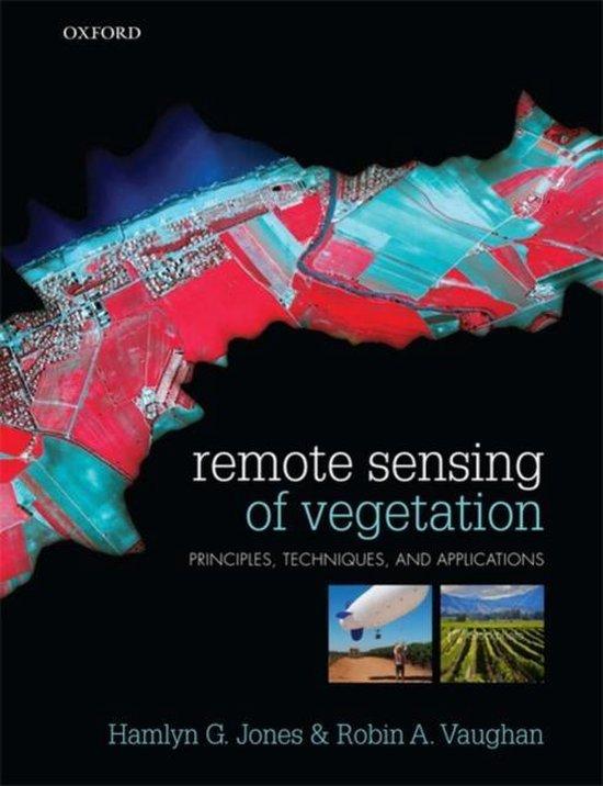 Boek cover Remote Sensing of Vegetation van Hamlyn G. Jones (Paperback)