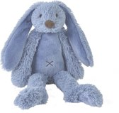 Happy Horse Konijn Richie no. 2 Donkerblauw Knuffel - 38 cm