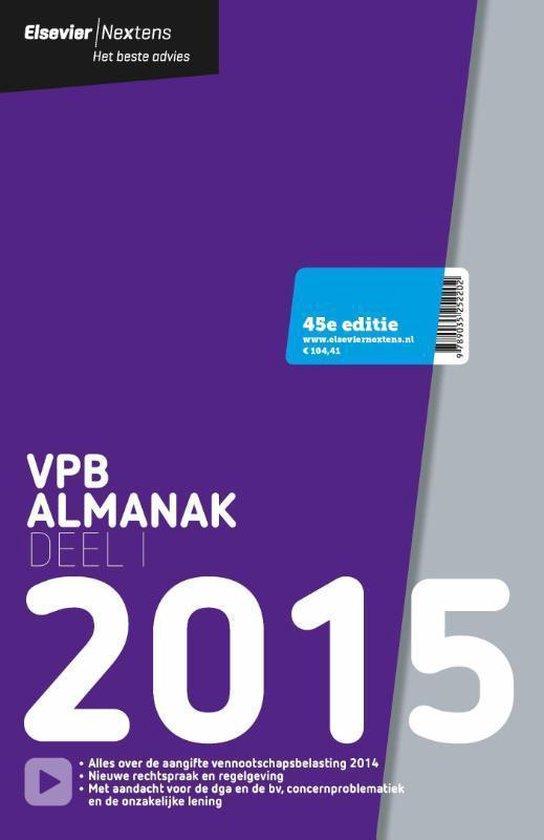 Elsevier - VPB almanak / 2015 deel 1 - Reed Business  