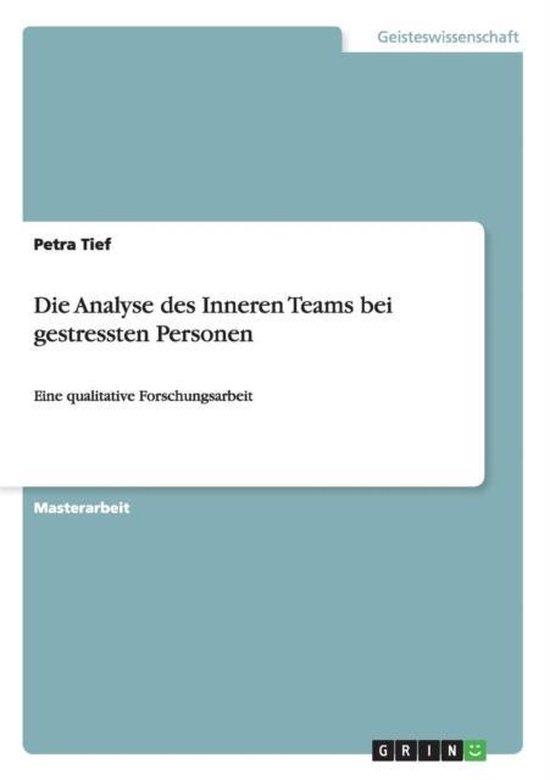 Die Analyse des Inneren Teams bei gestressten Personen