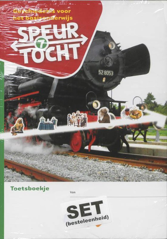 Boek cover Speurtocht Groep 7 5 ex. Geschiedenis voor het basisonderwijs Toetsboekje van Bep Braam (Paperback)