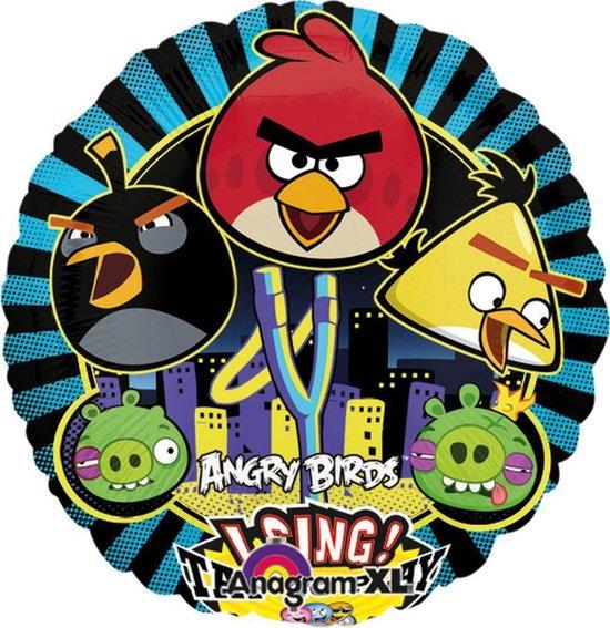 Ballon Angry Birds (zonder helium)