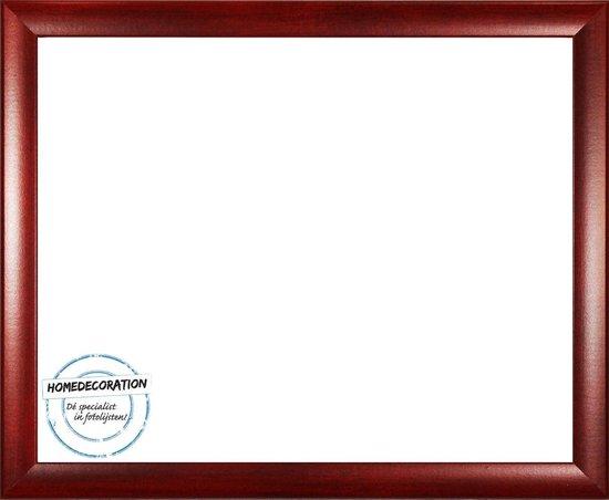 Homedecoration Colorado – Fotolijst – Fotomaat – 37 x 80 cm – Wijnrood geborsteld