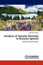 Analysis of Genetic Diversity in Brassica Species
