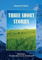 Omslag Three Short Stories
