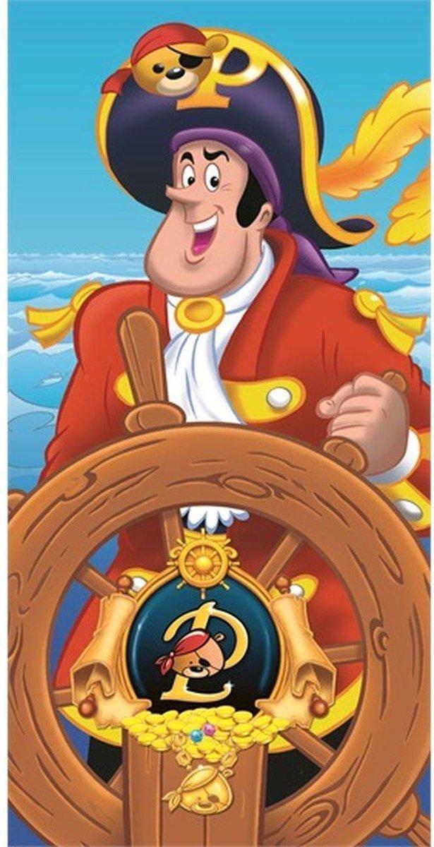 Piet Piraat Strandlaken - 70x140 cm - Blauw - Piet Piraat