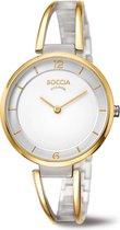 Boccia Titanium 3260-02 Horloge - Titanium - Goudkleurig - 34 mm