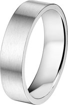 Dash Ring A508 - 6 mm - Zonder Cz - Staal