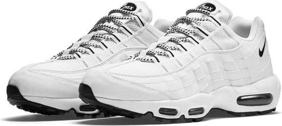 Nike Air Max 95 Sneaker Heren Sneakers - Maat 44.5 - Mannen - wit/zwart