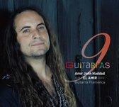 CD cover van 9 Guitarras van Amir John El Amir Haddad