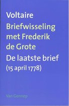 Briefwisseling Met Fredrik De Grote