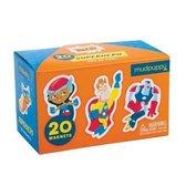 Superhero Box of Magnets