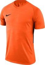 Nike Tiempo Premier SS Jersey  Sportshirt - Maat L  - Mannen - oranje