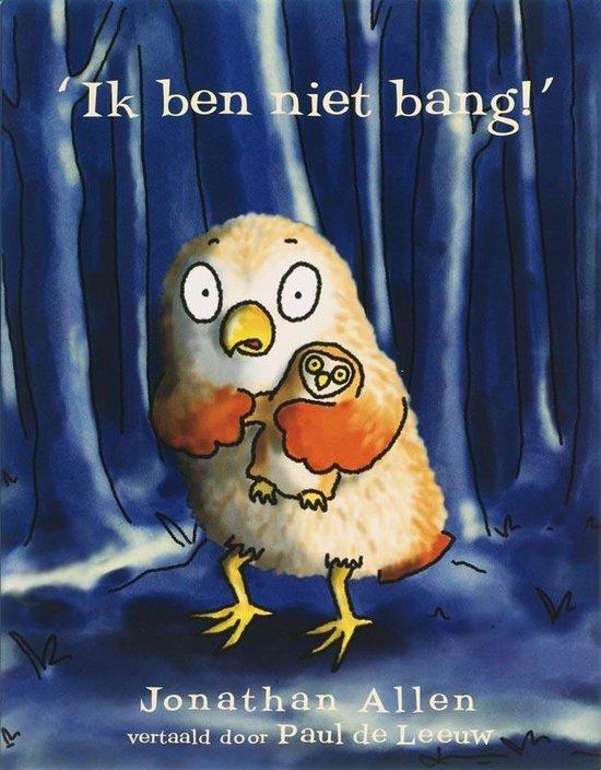 Cover van het boek ''Ik ben niet bang!'' van Judy Allen