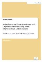 Massnahmen zur Umstrukturierung und Organisationsentwicklung eines internationalen Unternehmens