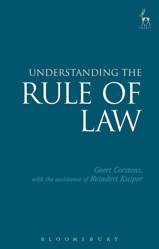 Boek cover Understanding the Rule of Law van Judge Geert Corstens (Onbekend)