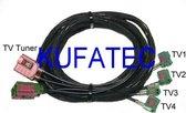 TV-antenne Module - Harness - Audi A6 4F - MMI 3G