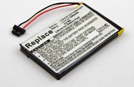 Battery NAVIGON 70 Easy, 70 Plus, Li-Polymer, 3,7V, 1200mAh, 4,4Wh