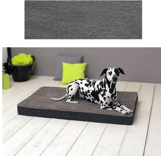 Sun Garden - Buddy orthopedisch hondenkussen - 120 x 72 x 10 cm - Grijs