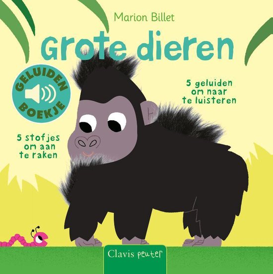 Boek cover Grote dieren van Marion Billet (Onbekend)
