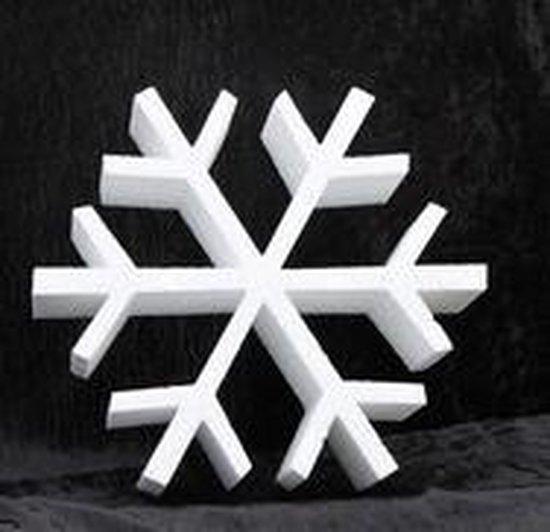 Piepschuim vorm ijskristal 20 cm