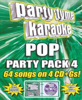 Party Tyme Karaoke: Pop Party Pack, Vol. 4