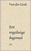 Boek cover Een Ongedurige Dageraad van Guillaume van der Graft
