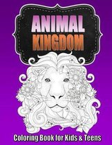 Animal Coloring Book for Older Kids & Teens Perfect for Boys & Girls
