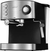 MPM - RVS Espressomachine - Gemalen koffiebonen
