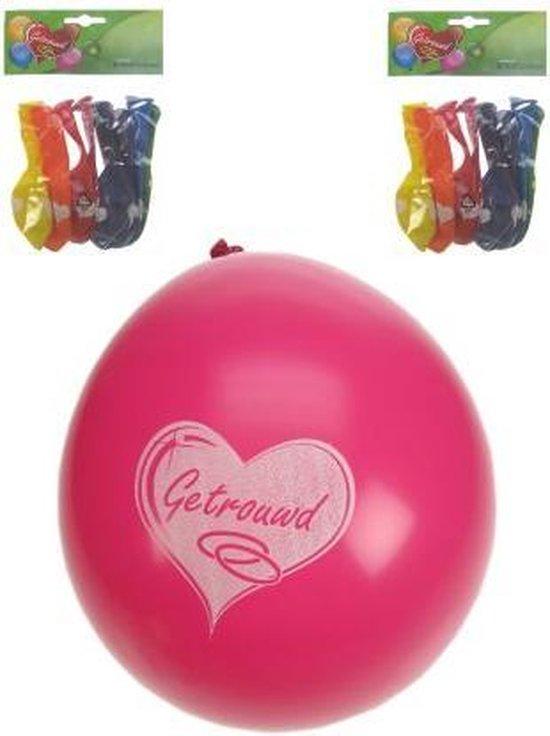 ballonnen - getrouwd - per 8