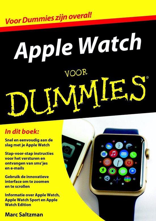 Voor Dummies - Apple Watch voor Dummies - Marc Saltzman | Readingchampions.org.uk