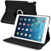 iPad AIR 360 graden case zwart leer