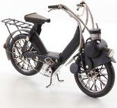 Solex bromfiets model - blikken fiets met hulpmotor - blik - zwart