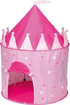 Paradiso toys Speeltent prinsessenkasteel 95 x 125 cm roze