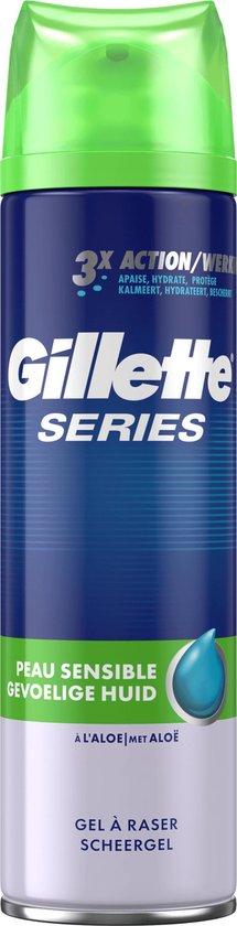 Gillette Series Sensitive Scheergel Mannen - 2x200 ml