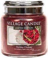 Village Candle Medium Jar Geurkaars - Holiday Chutney