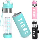 TIGR The Infuser - Drinkfles met fruitfilter - 100% BPA vrij - 700ML – Blauw