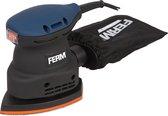 FERM Vlakschuurmachine – 220W – Klittenbandaansluting – Incl. schuurpapier, stofopvangzak