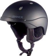 Sinner Titan - Skihelm - Unisex - M / 57-58 cm - Zwart