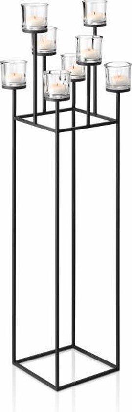Blomus NERO kandelaar staand 128 cm (8 kaarsen)