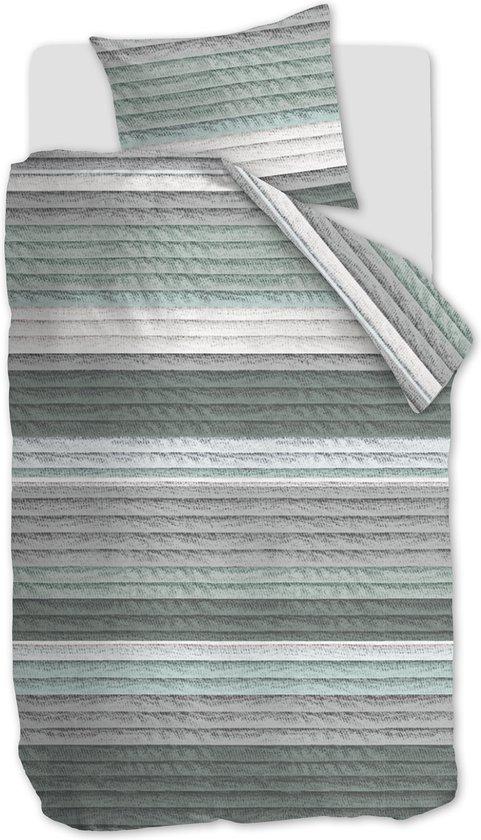 At Home by Beddinghouse Moulin Dekbedovertrek – Katoen – 140×200/220 cm – Groen