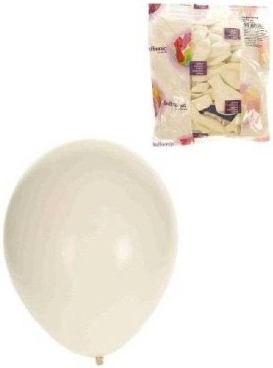 Helium ballonnen Wit 100 stuks