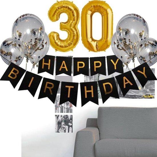 Hedendaags bol.com   Verjaardag 30 jaar versiering - verjaardag versiering 30 MZ-44