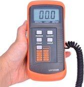 LX1330B digitale Lux Meter 200000 Lux Lux / FC Meting Lichtmeter Detecteren Lichtintensiteit Precieze Gegevens Hold Piek Lezen Hold Functie