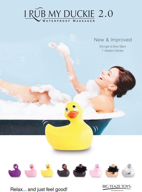 Vibrator - I Rub My Duckie 2.0 | Massager - Classic - Roze