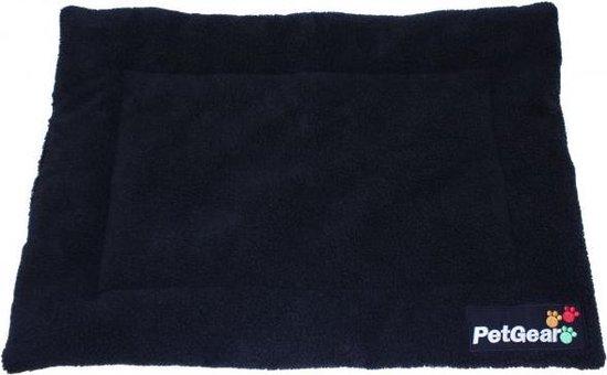 Petgear Ligmat Zwart 107x71x4 cm