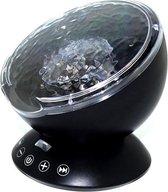 Wave Ocean Lamp - Projector Oceaan - Zwart - Ideaal om mee in slaap te vallen